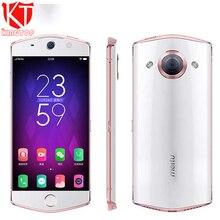 Оригинальный meitu M6 мобильный телефон 3 ГБ Оперативная память 64 ГБ Встроенная память MT6755 Octa Core 2.0 ГГц 5.0 дюймов 21.0MP сзади камера 4 г Android 6.0 Камера телефон
