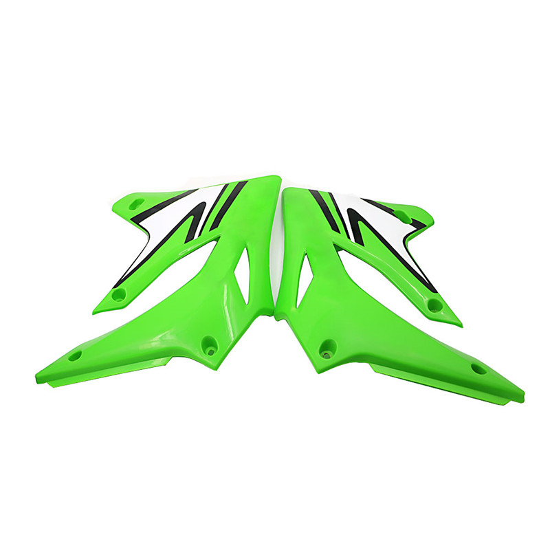ABS Front Side Cover Fuel tank Body Plate Guard Decoration Protector Fairing For Kawasaki KLX 250