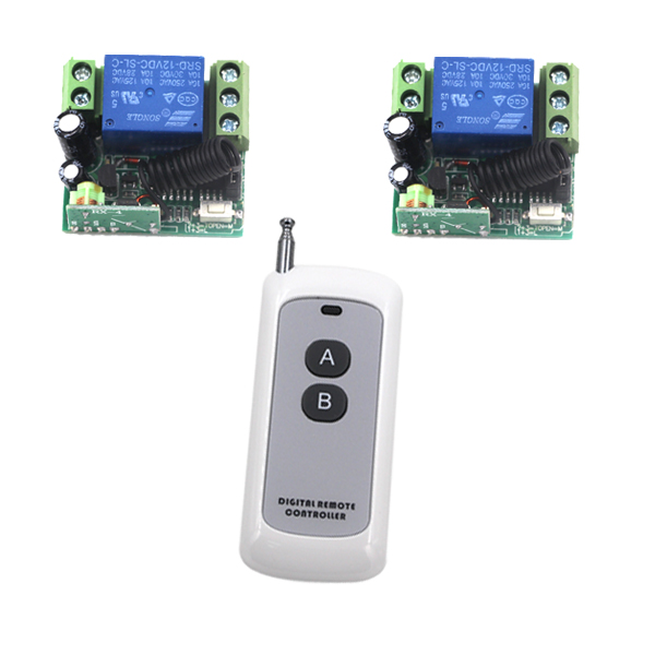 MITI-2 CH Wireless Transmitter 1CH Receiver Remote Control Switch Relay DC12V 10A 315MHz Free Shipping SKU: 5357 dag stranneby digital signal processing and applications