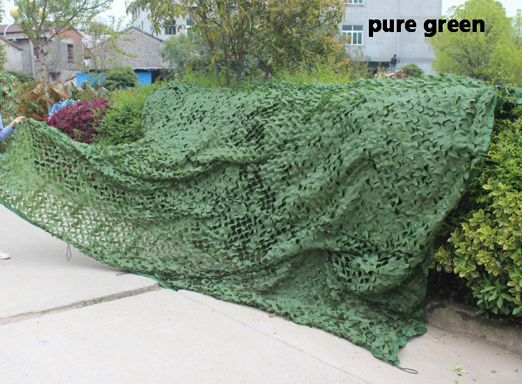 5 colors Camouflage Net Outdoor camping tarp sun shelter high quality awning hiking military camouflage camo netting for hunting