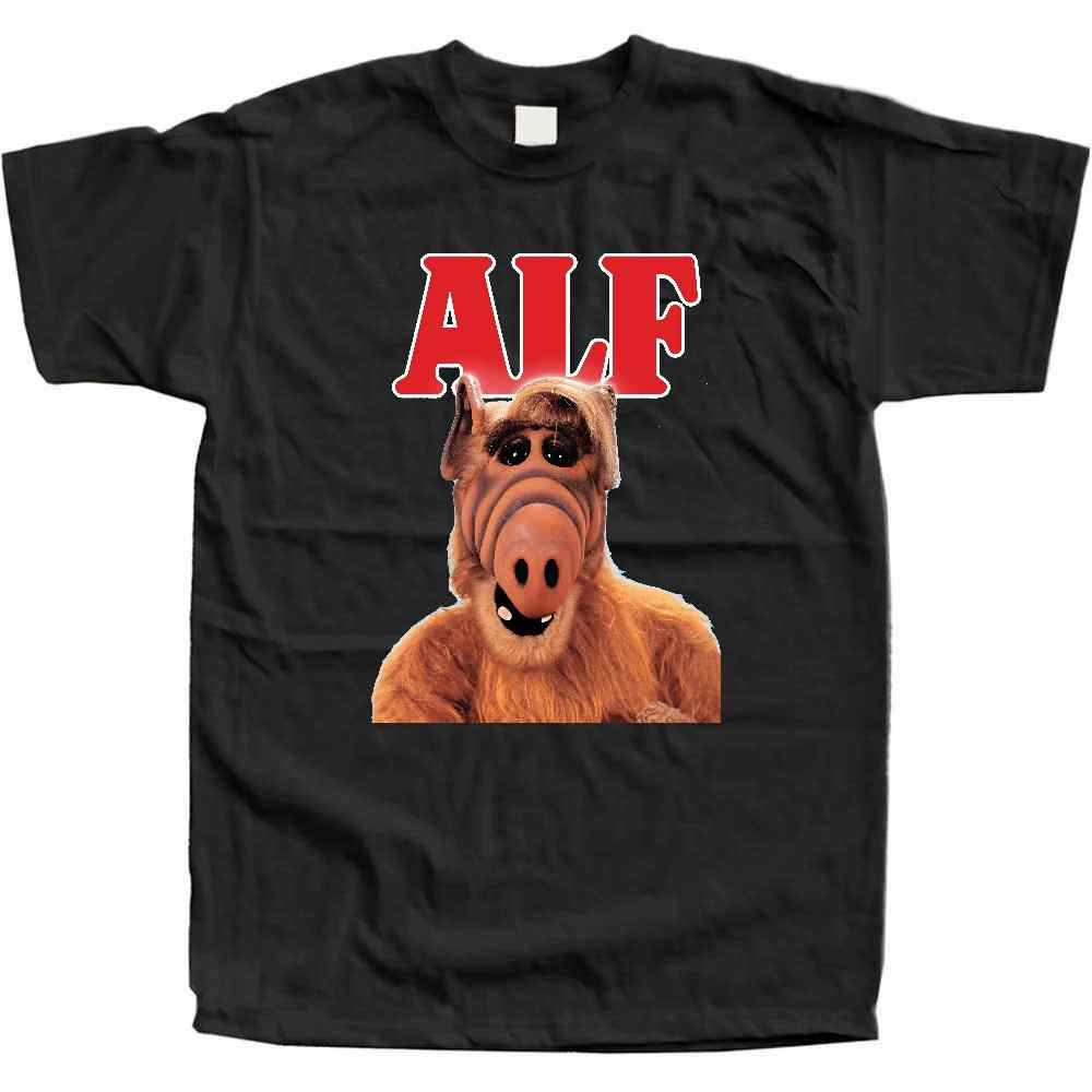 f58c0bc2877 Alf V2 Tv Show Poster T Shirt K Green Pink Sky Blue Yellow All Sizes S