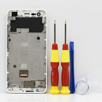 New Original Touch Screen LCD Screen LCD Display For Ulefone Paris Digitizer Assembly With Frame Replacement