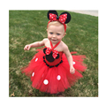 New Arrival Baby Girls Tutu Dress Classic Cute Mouse Inspired Toddle Newborn Baby Ball Gown Dress For Birthday  For 0-2T