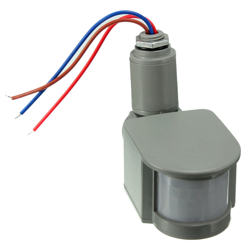 Outdoor 12V DC Automatic Infrared PIR Motion Sensor Switch For LED Light