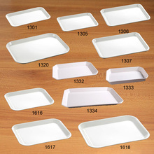 Dinner Plates Tray Dinnerware Kitchen Plate Square  Nautical University Canteen Melamine A5 Tableware