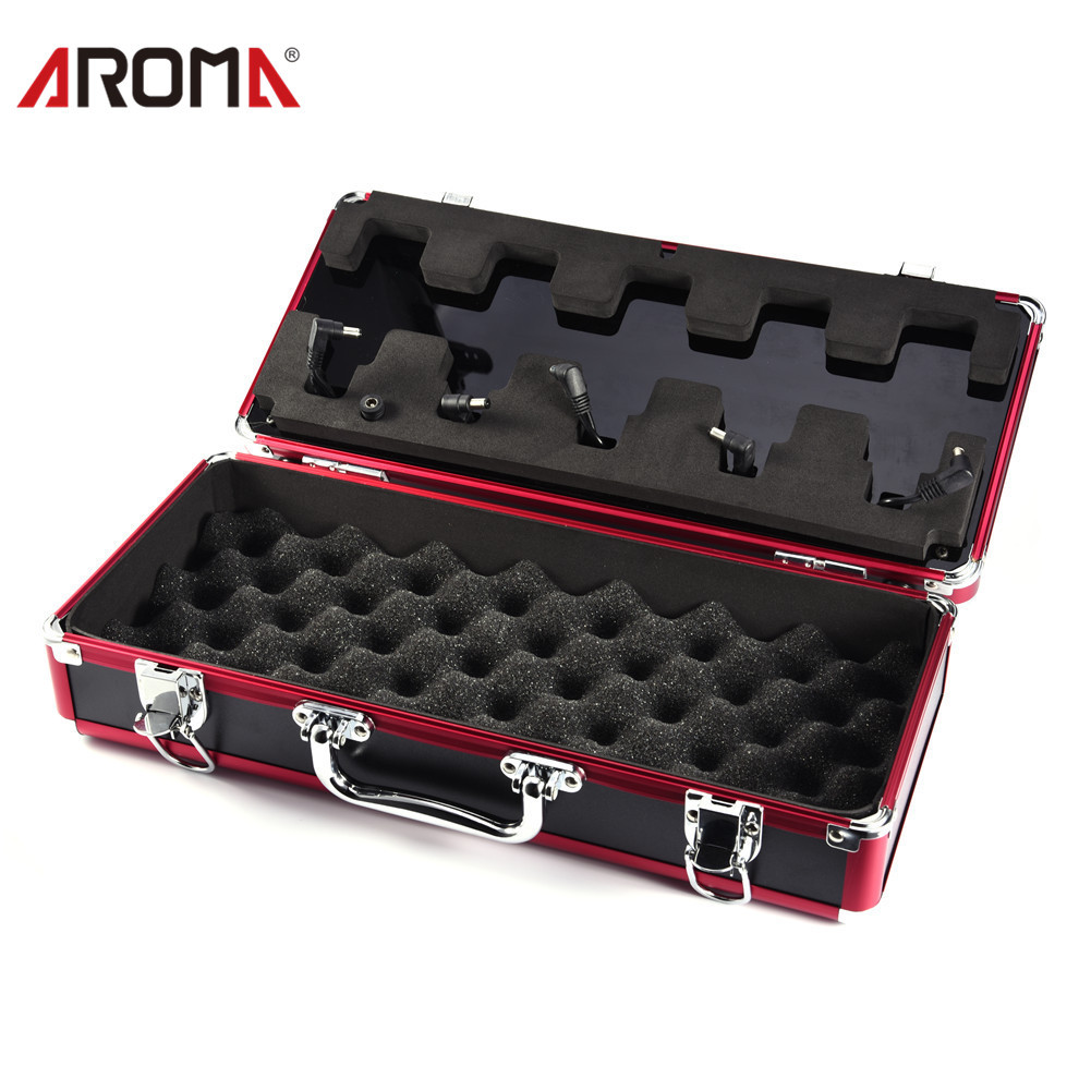 Aroma APB-3 Dedicated Carrying Guitar Pedal Case Box With Power Supply Cable For Mini Distortion Effect Pedal Metal Guitar Parts как купить авто в apb