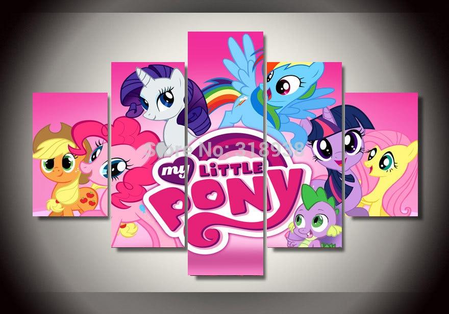 Online Get Cheap My Little Pony Wall Poster -Aliexpress.com ...