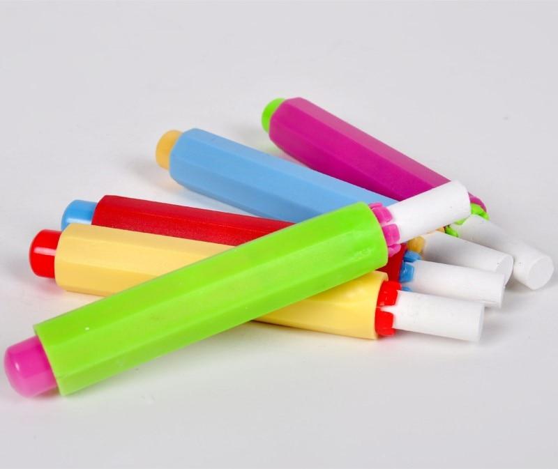 Peerless 1pc Porta Tiza Chalk Aluminum Chalk Holders Holder Pen Clip Non Dust Clean Teaching On Chalkboard School & Educational Supplies Office & School Supplies
