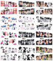 12 Sheets/Lot Nail Beauty A817-828 Audrey Hepburn Full Cover Nail Art Water Sticker Decal For Nail Water Tip (12 DESIGNS IN 1)