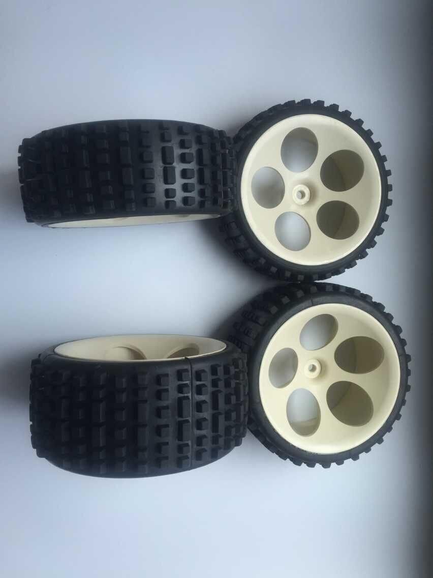 Rc Car 1/5 1/6 FG marder baja monster stadium wheels and tires( 4pcs/set) 4pcs 1 9 rubber tires