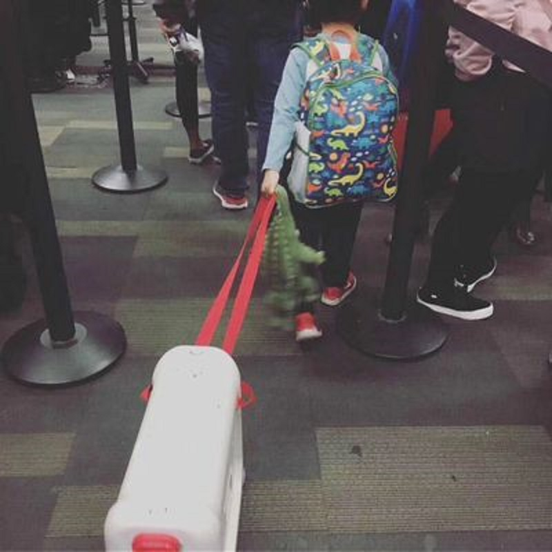 Travel tale Can ride can sit high quality suitable for children multifunction PC Rolling Luggage Spinner brand Travel Suitcase