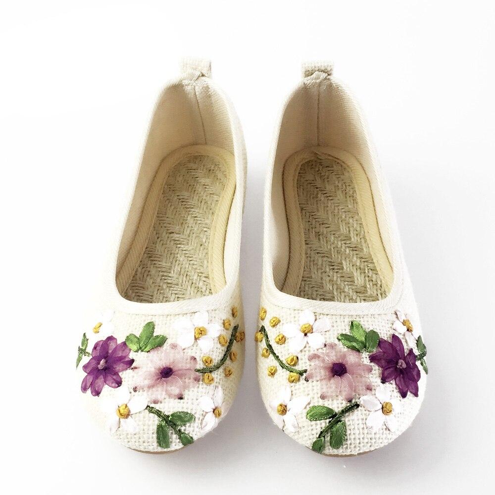 zapatos cómodo bordado Stop118