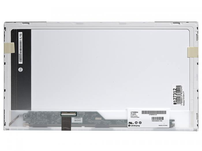 LCD 15.6 Glare LP156WH4 (TL)(A1), WXGA HD 1366x768, 40L, LED