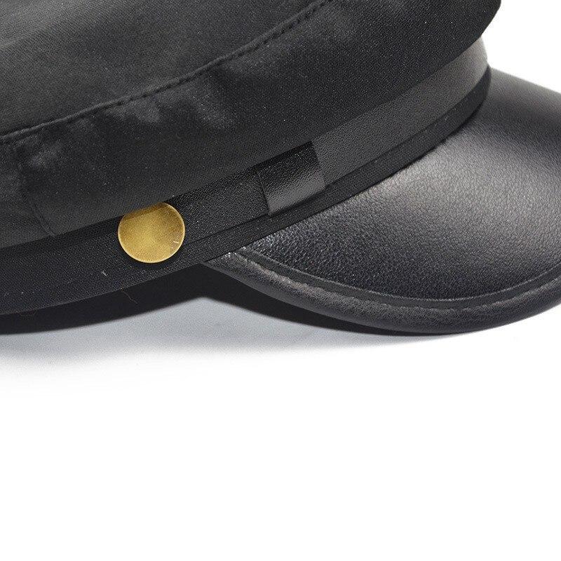 f8901ab4e521a כובעים צבאיים - Military Cap Hat Female Winter Hats For Women Men ...