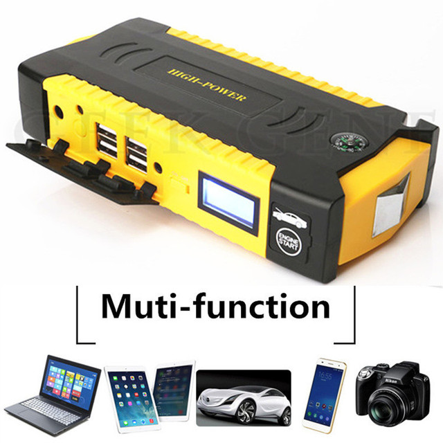 Super Power Car Jump Starter Power Bank 600A Portable Car Battery Booster Charger 12V