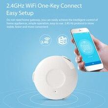 Ome ผู้ช่วยสมาร์ท Water Sensor WiFi สมาร์ทหน้าแรกน้ำน้ำท่วม WiFi รั่วเครื่องตรวจจับ Sensor PK สำหรับ xiaomi smart บ้าน