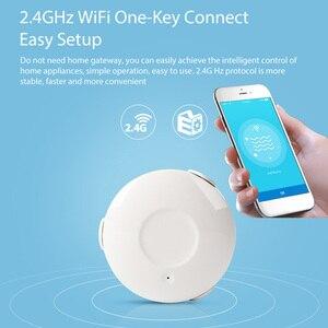 Image 1 - Ome ผู้ช่วยสมาร์ท Water Sensor WiFi สมาร์ทหน้าแรกน้ำน้ำท่วม WiFi รั่วเครื่องตรวจจับ Sensor PK สำหรับ xiaomi smart บ้าน