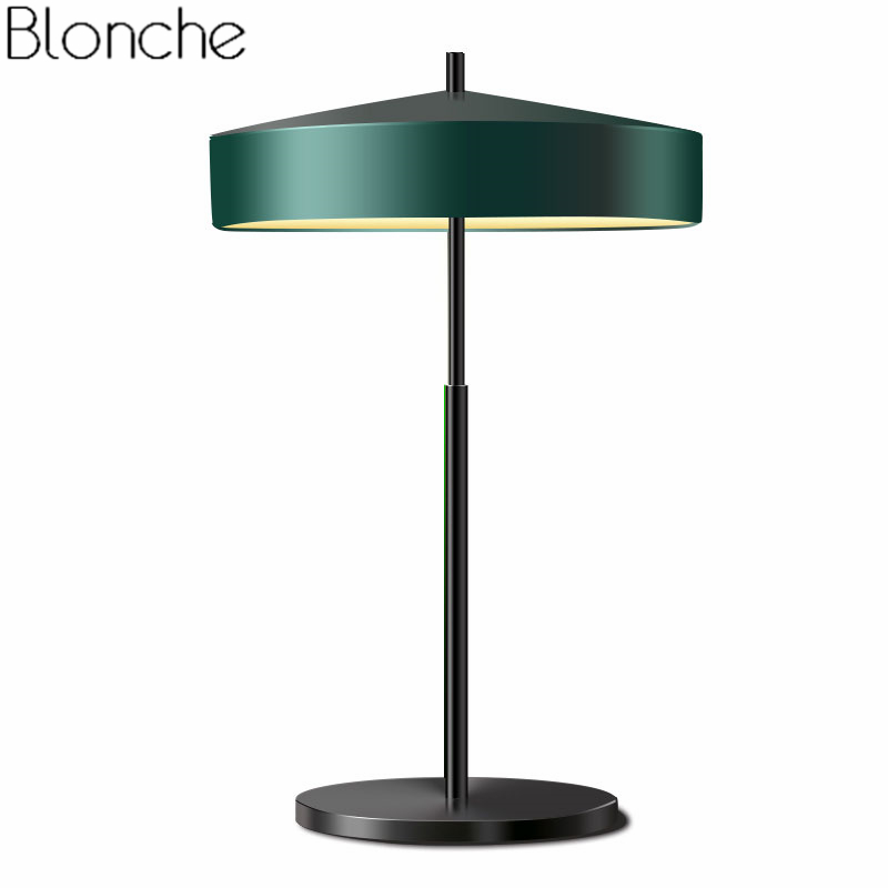 Modern Metal Led Table Lamps for Living Room Bedroom Bedside Study Lamp Stand Nordic Desk Light Fixtures Home Decor Luminaire modern led metal lamp crystal shade bedroom bedside table lamp for the living room study home lighting fixtures with marble base