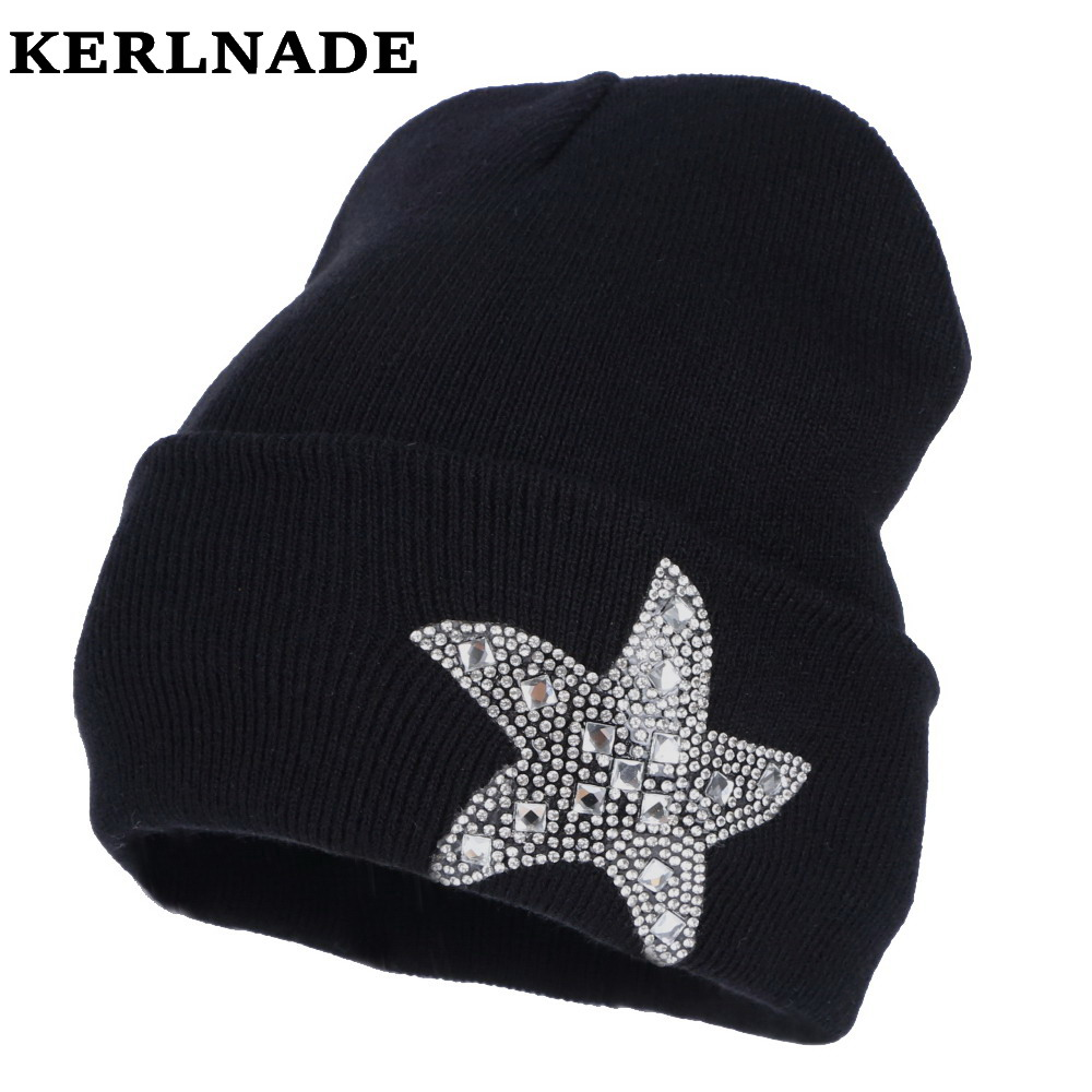 2c7e373f031 Detail Feedback Questions about new design women beanies star winter hats  girl casual skullies bling rhinestone clear luxury beanie woman fashion winter  hat ...