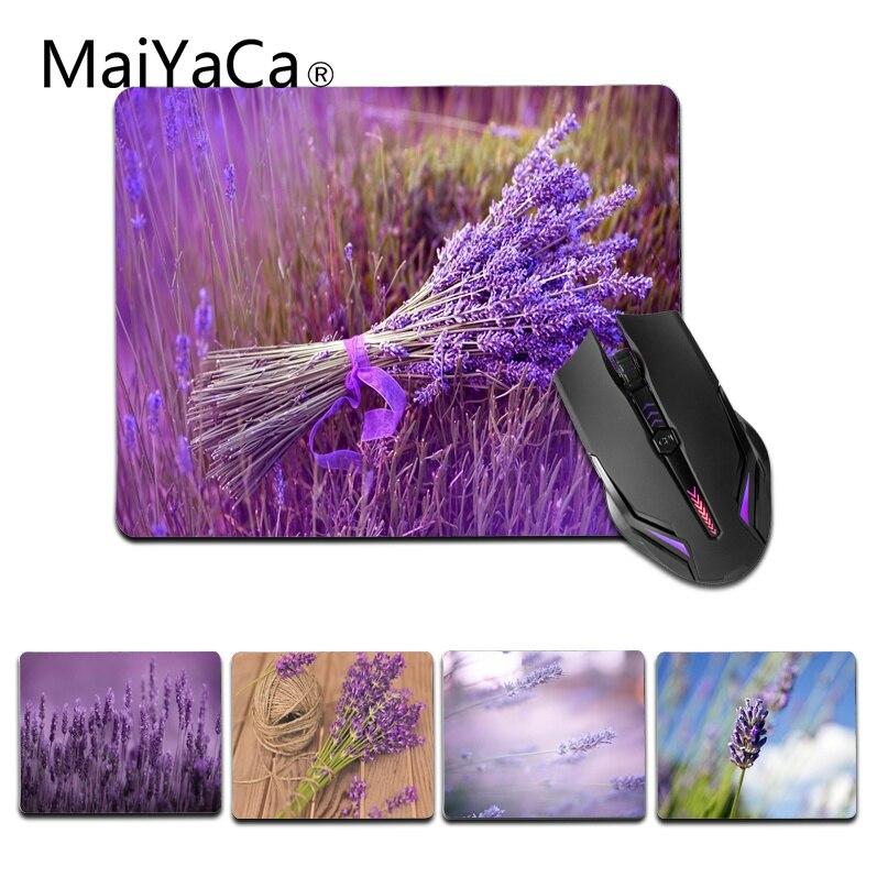 Maiyaca Нескользящие pc фиолетовый букет геймер Скорость мыши розничной маленький резиновый коврик Размеры для 18x22 см 25x29 см игровой коврик для ...
