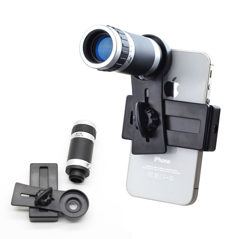 2017 HD 8X Telescope Zoom Telephoto Lens Mobile Phone ...