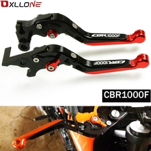 High Quality Motorcycle Accessories Adjustable Folding Brake Clutch Lever For honda CBR1000F CBR 1000F SC24 1993 1994 1995 1998