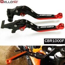 Yüksek Kaliteli Motosiklet Aksesuarları Ayarlanabilir Katlanır fren debriyaj Kolu honda CBR1000F CBR 1000F SC24 1993 1994 1995 1998