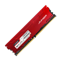 JUHOR New Arrival Red Color DDR4 Desktop Memory RAM 8GB 16G DDR4 2666mhz PC4 21300 288pin Memory RAM