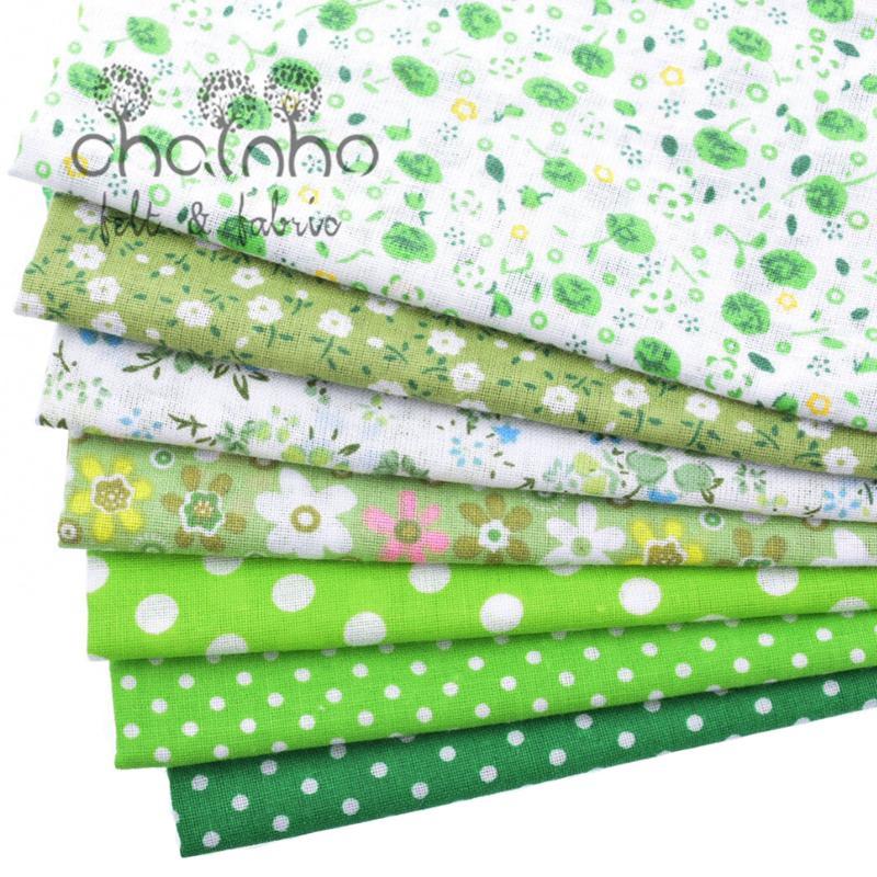 Tunn bomullstygpatchwork för sömnad Scrapbook Cloth Fat Quarters - Konst, hantverk och sömnad - Foto 5