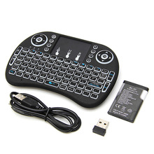 цены на Top Selling Product NEW Mini 2.4G 3 Color Backlit Wireless Touchpad Keyboard Air Mouse For PC Pad Android TV Box/X360/PS345GAF5  в интернет-магазинах