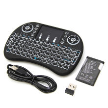 Top Selling Product NEW Mini 2.4G 3 Color Backlit Wireless Touchpad Keyboard Air Mouse For PC Pad Android TV Box/X360/PS345GAF5(China)