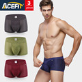 Acefit Brand Men Underwear modal ice silk mesh male boxers Solid color Comfortable Soft Breathable High Quality Shorts Pants