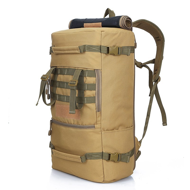 Multifunction 50L Tactical Backpack Ttravel Outdoor Sports Bag Camping Hiking Backpacks Trekking Rucksack Men Army Military Bag