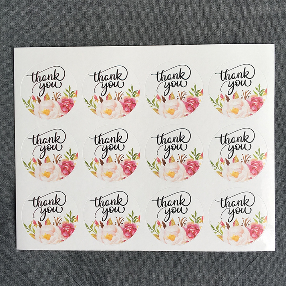 120Pcs 2019 Flower Round Thank You Handmade Cake Packaging Sealing Label Kraft Sticker Baking DIY Gift Stickers M1402120Pcs 2019 Flower Round Thank You Handmade Cake Packaging Sealing Label Kraft Sticker Baking DIY Gift Stickers M1402