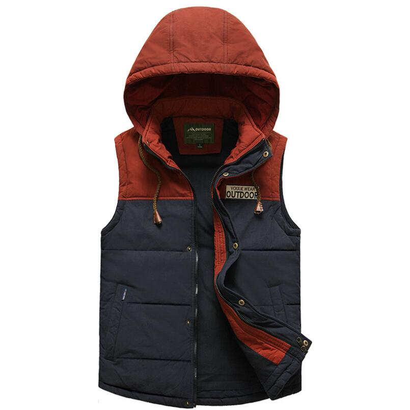 Homme Hoodies Gilet automne hiver Colete Masculino Gilet Chalecos Airsoft Kamizelka Bodywarmer sans manches veste marque AFS JEEP