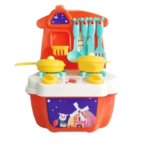 Pretend Kitchen Play Toy Role Mini Simulation Kitchenware Tableware Cookware For Kid Gifts