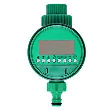 Высокое качество пластика Электронный Сад Вода Таймер Электромагнитный Клапан Орошения Ороситель Управления