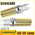 G9 LED Corn Light 6W 9W SMD2835 Silicone body Mini LED Bulb AC220V 240V Crystal Chandelier Spot Light Free Shipping