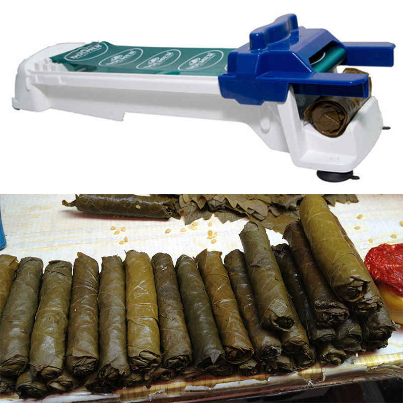 Magic Stuffed Grape & Vegetable Meat Rolling Tool Cabbage Leaf Rolling Tool Yaprak Sarma Dolmer Roller Machine Moedor De Carne