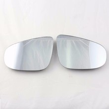 TUKE Car Mirror Heating Left & Right Electrical Heated Mirror Glass For Jetta Golf MK5 Passat B6 Rabbit 1K0 857 521 1K0 857 522