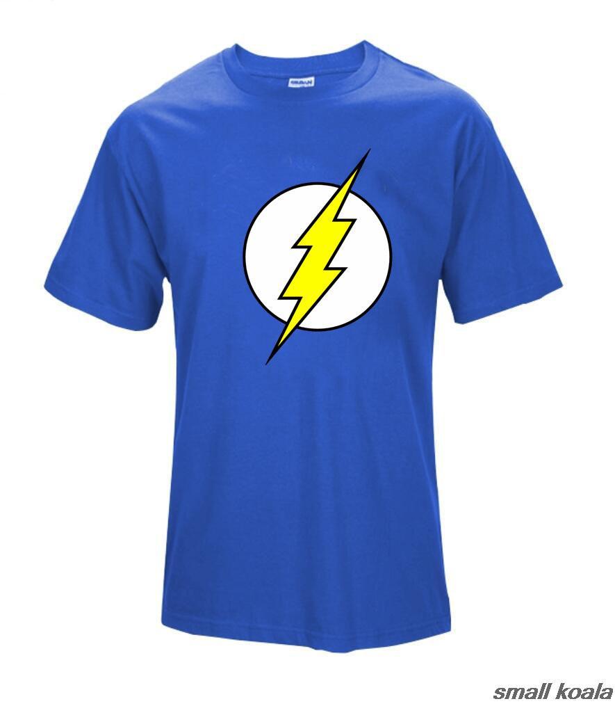 The Big Bang Theory T Shirt The Flash Print Women And Men