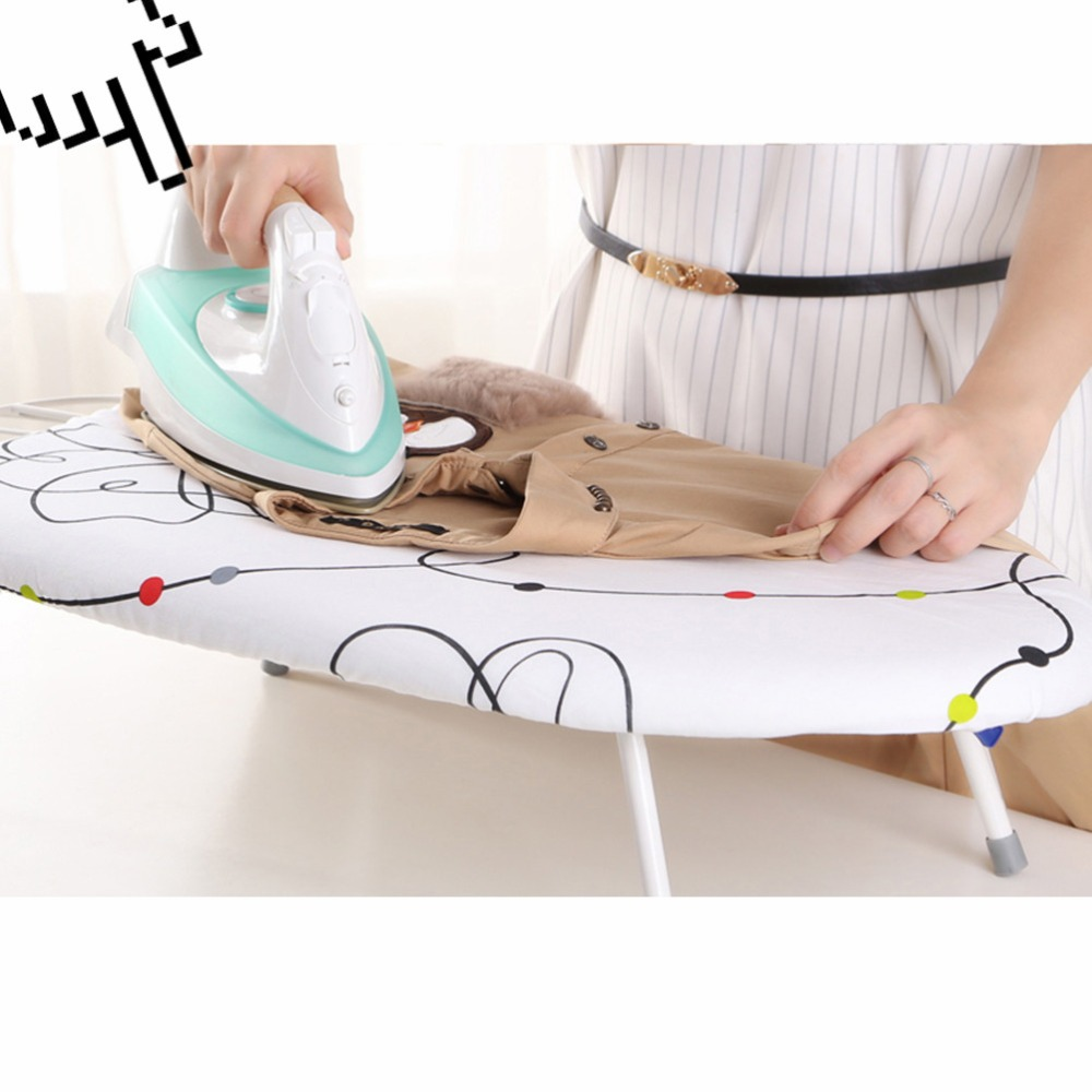 Ironing Board Heat Resistant Space Saving Ironing Board Ironing Table with Durable Breathable Tear Heat Resistant