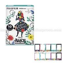 Limited Алиса в стране чудес Fujifilm Instax Mini 8 мгновенных Фильм 10 шт. фотобумаги для мини Камера и поделиться смартфон принтер