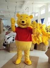 Bear Cartoon Mascot Costume Animal mascot costume Fast Shipping