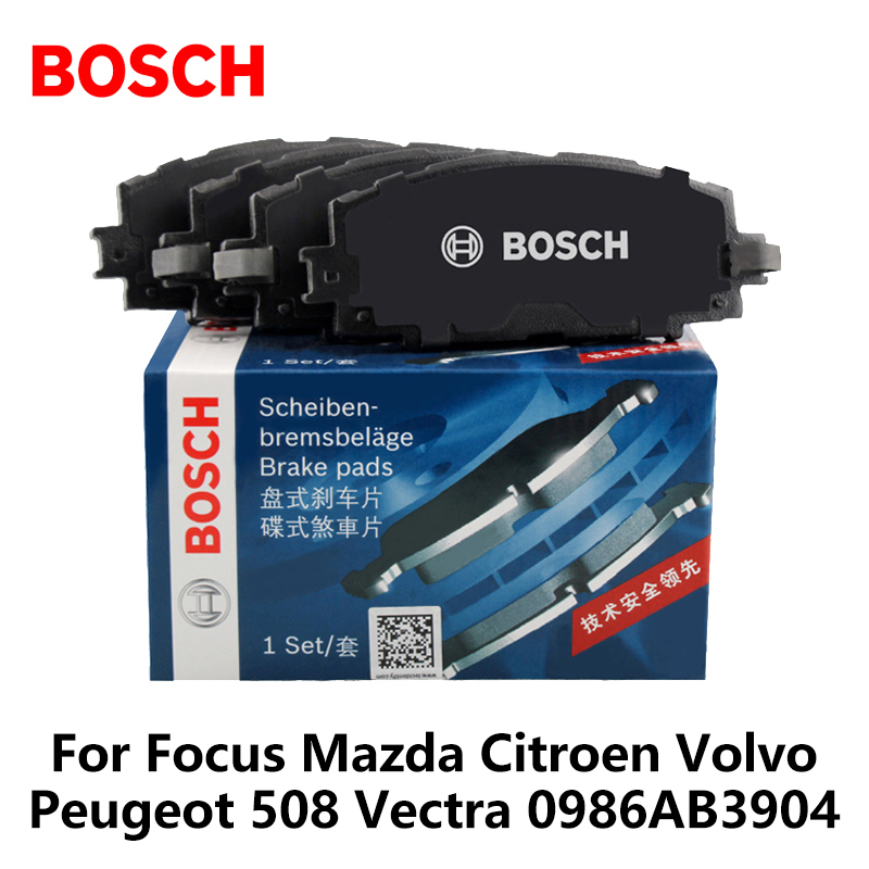 Volvo S60 Brake Pads: 4pieces/set Bosch Car Rear Brake Pads For Focus Mazda