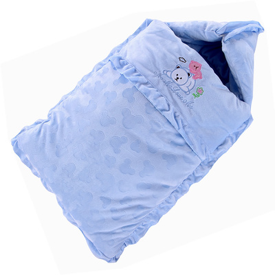 Baby sleeping bags Baby sleeping bag package is amphibious winter increase more comfortable