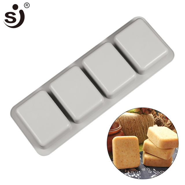 Sj Diy Soap Molds Silicone Mold 27 7 10 2 3 Cm Rectangle Molds For
