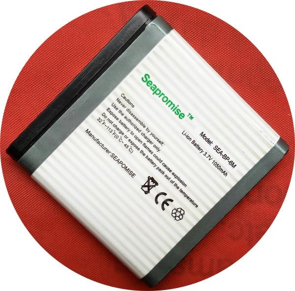 Freeshipping Retail mobile phone battery BP-6M BP 6M BP6M for Nokia N93 3250 6151 6233 6234 6280 6288 9300 N73 N77 N93 N93S