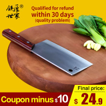 Cleaver knife stainless steel Slicing knife chinese handmade vegetable fruit meat fish kitchen knives ножи кухонные