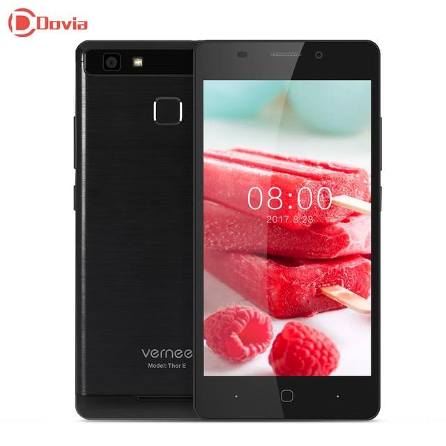Vernee Thor E 4G Smartphone 5.0 inch Android 7.0 MTK6753 Octa Core 3GB RAM 16GB ROM Touch Sensor 5020mAh Battery Full Metal Body